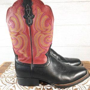 Justin Stampede Cattleman Western Boots